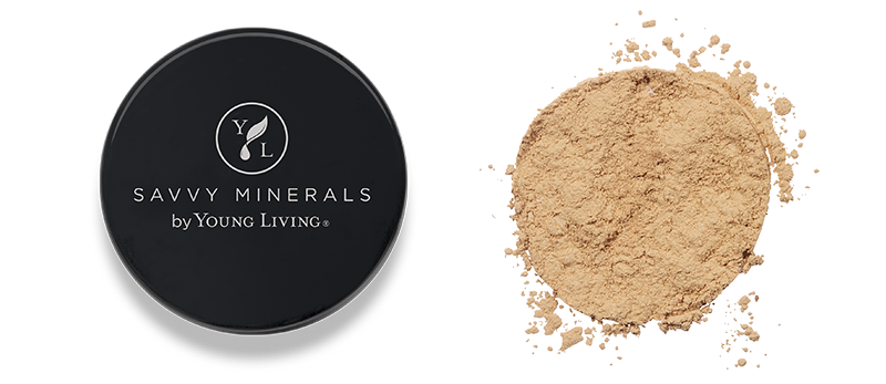 Young Living Savvy Minerals Foundation Powder